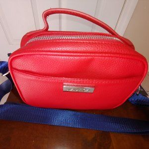 NWT Nautica Toiletry Travel Bag/ Pouch in Red